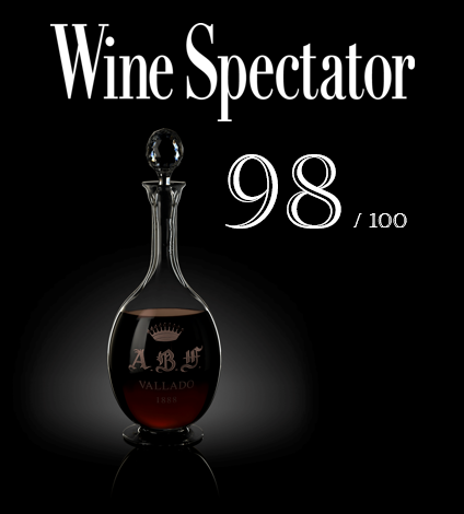 Vallado ABF Featured in Wine Spectator Magazine.